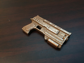 Fallout: 10mm Pistol in Stainless Steel