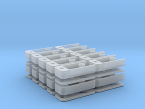 Medium Draft Coupler Box (N -1:160) 20X in Frosted Ultra Detail