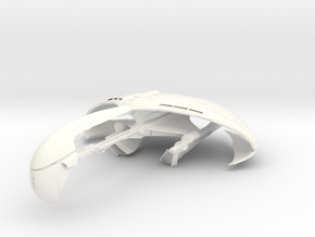 Kerchan WarBird in White Strong & Flexible Polished