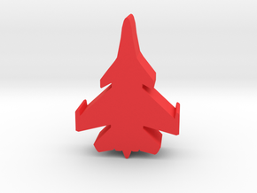 Game Piece, Red Force Super Flanker Fighter in Red Strong & Flexible Polished