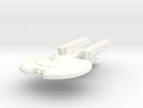 Carter Class Cruiser in White Strong & Flexible Polished