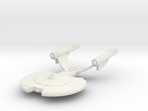 Akyazi Class Destroyer in White Strong & Flexible
