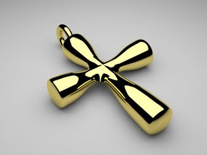 CLASSIC CROSS in 18k Gold