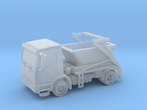 Truck & Container 01. Z Scale (1:220) in Frosted Ultra Detail
