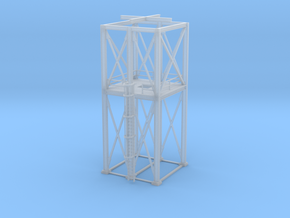 'N Scale' - 16'x16' Loadout Structure Frame in Frosted Ultra Detail