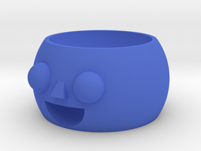 Little boy pot in Blue Strong & Flexible Polished