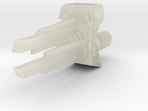 Ratchetrooper Weapon 08 - Railgun in Transparent Acrylic