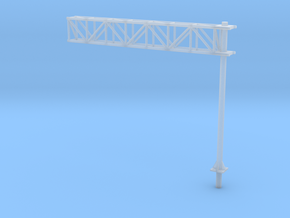 HO Scale Sign Cantilever in Frosted Ultra Detail