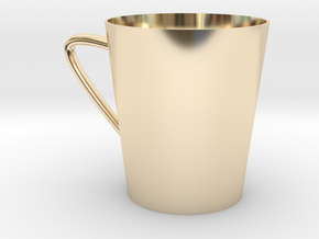 coffee cup in 14K Gold