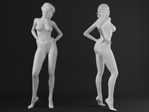 Panties girl 009 scale 1/32 Passed in Frosted Ultra Detail