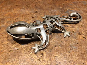 Lizard Bottle Opener in Stainless Steel