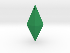 Sims in Green Strong & Flexible Polished