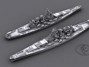 1/2400 US BB North Carolina [1944] (x2) in Frosted Ultra Detail