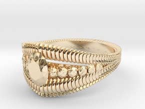 Oval cut ring(Japan 10,USA 5.5,Britain K)  in 14K Gold