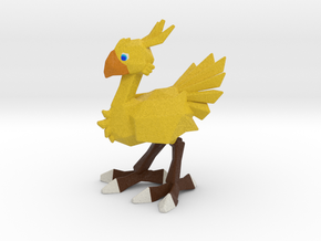 FF7 - Chocobo - 100mm in Full Color Sandstone