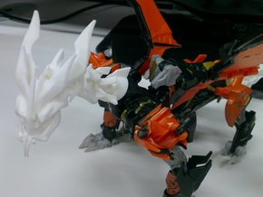 TFP Voyager Beast King Head+Neck in White Strong & Flexible