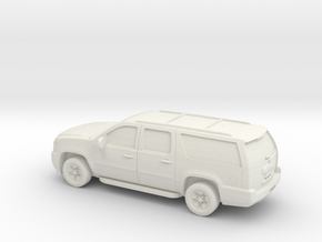 1/87 2007-14 Chevrolet Suburban in White Strong & Flexible