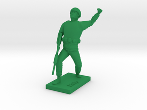 Soldier Philip in Green Strong & Flexible Polished