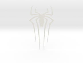 The Amazing Spider-man FRONT Spider in White Strong & Flexible