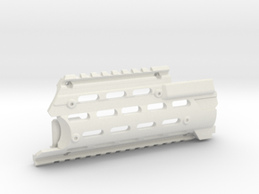 Modified AK-12 Handguard (Left part) for AK in White Strong & Flexible