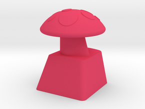 MushroomCap Artisan Cherry Keycap in Pink Strong & Flexible Polished