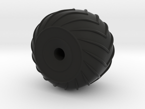 1/48 Amphicat Wheel Right - Need 3 of these in Black Strong & Flexible