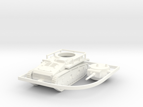 1/100 (15mm) Leichttraktor Rheinmetall in White Strong & Flexible Polished