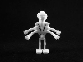 General Minifigure in White Strong & Flexible