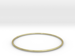 Bracelet Ø53 mm XS/Ø2.086 inch in 18k Gold Plated