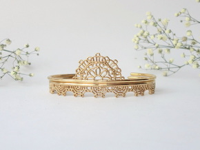 Lace Wrap Cuff - small in 14k Gold Plated