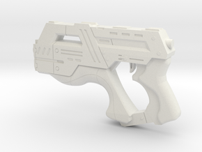Mass Effect 1:1 M-6 Carnifex Heavy Pistol in White Strong & Flexible