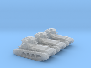 6mm Whippet tanks (3) in Frosted Ultra Detail
