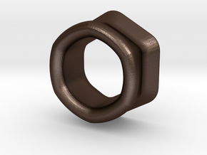 3D+ in Matte Bronze Steel