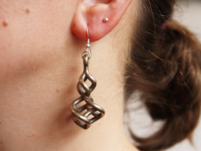TTS earring 2 in Stainless Steel