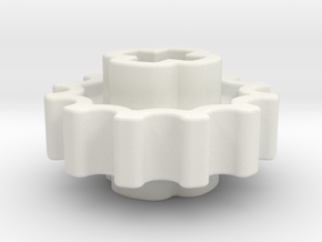12z Chain Gear in White Strong & Flexible