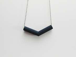 Pipe Pendant N°1 in Black Strong & Flexible