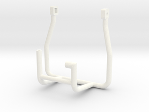 Tamiya MF01X REAR CAGE in White Strong & Flexible Polished