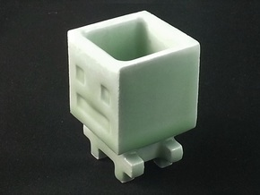Turbo Buddy Shot Glass in Gloss Celadon Green Porcelain