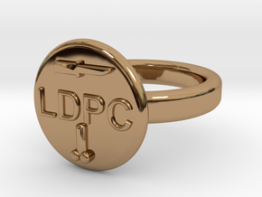 LDPC 19mm in Polished Brass