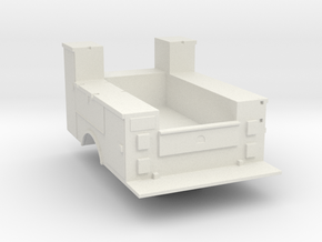 Maintenance Truck Bed Details Detached 1-87 HO Sca in White Strong & Flexible
