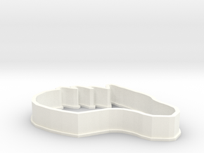 Dragon-Horse Cookie Cutter in White Strong & Flexible Polished