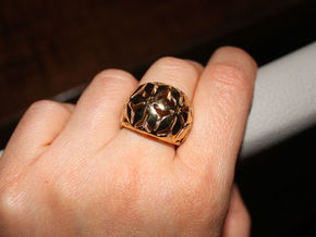 star ring size 7 in 18k Gold Plated