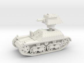 Vickers Light Tank Mk.IIa (15mm) in White Strong & Flexible