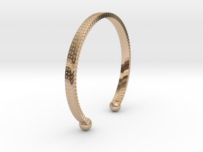 Bracelet �2.48 inch/�63 mm in 14k Rose Gold Plated
