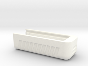 USP Battery Drawer in White Strong & Flexible Polished