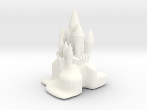 FANCY CITADEL in White Strong & Flexible Polished
