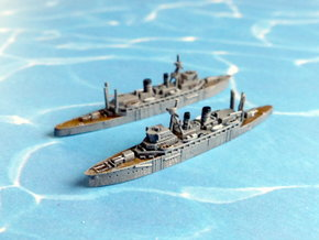 IJN Jingei / Chogei Submarine Tender 1/2400 in Frosted Ultra Detail