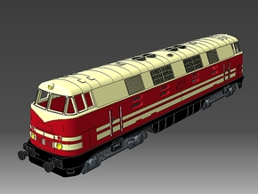 1:220 - V180 DR in Spur Z Gehäuse/  rollfähige Lok in Frosted Ultra Detail