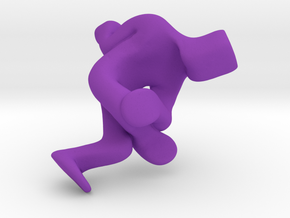 AirChair in Purple Strong & Flexible Polished