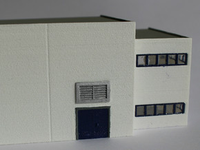 N Scale Vents 10pc in Frosted Ultra Detail